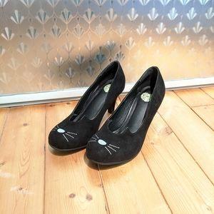 TUK Sophistikitty Cat Kitty Heels